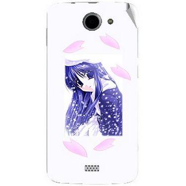 Snooky 47790 Digital Print Mobile Skin Sticker For Xolo Q1000 - White