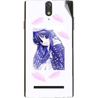Snooky 47886 Digital Print Mobile Skin Sticker For Xolo Q1020 - White