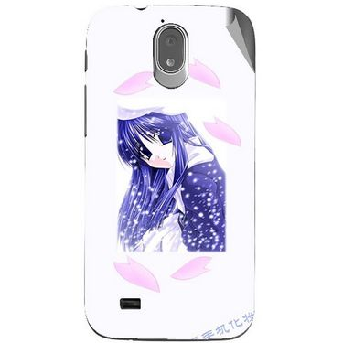 Snooky 48014 Digital Print Mobile Skin Sticker For Xolo Play T1000 - White