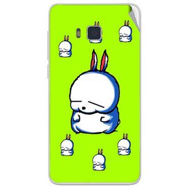 Snooky 48412 Digital Print Mobile Skin Sticker For Lava Iris 406Q - Green