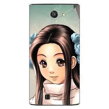 Snooky 48437 Digital Print Mobile Skin Sticker For Lava Iris 456 - Multicolour
