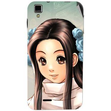 Snooky 48725 Digital Print Mobile Skin Sticker For Lava Iris 405 Plus - Multicolour