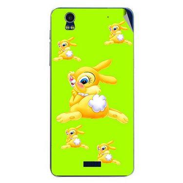 Snooky 48769 Digital Print Mobile Skin Sticker For Lava Iris Pro 20 - Green