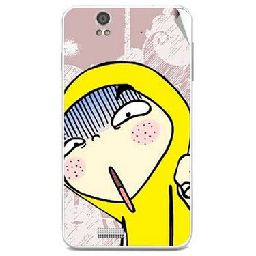 Snooky 48847 Digital Print Mobile Skin Sticker For Lava Iris X5 - Multicolour