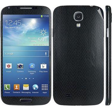 Snooky 18269 Mobile Skin Sticker For Samsung Galaxy S4 I9500 - Black
