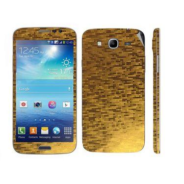 Snooky 18274 Mobile Skin Sticker For Samsung Galaxy Mega 5.8 Gt - Gold