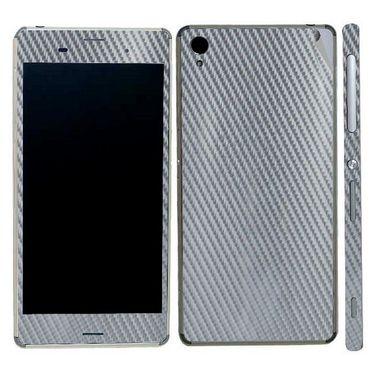 Snooky 20493 Mobile Skin Sticker For Sony Xperia Z3 - silver