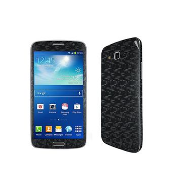 Snooky 20545 Mobile Skin Sticker For Samsung Galaxy Grand 2 G7102 - Black