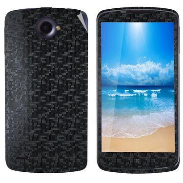 Snooky 20697 Mobile Skin Sticker For Lenovo S920 - Black