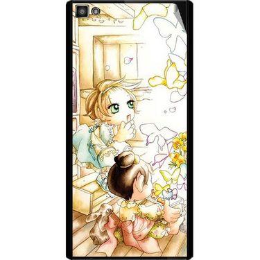 Snooky 42830 Digital Print Mobile Skin Sticker For XOLO 8X 1000 Hive - White