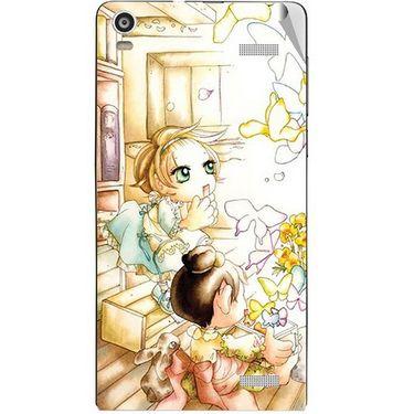 Snooky 42918 Digital Print Mobile Skin Sticker For XOLO A1000S - White