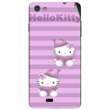 Snooky 43052 Digital Print Mobile Skin Sticker For Xolo Q900s - Pink
