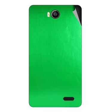 Snooky 43168 Mobile Skin Sticker For Intex Aqua 4.5e - Green