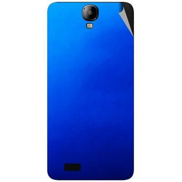 Snooky 43172 Mobile Skin Sticker For Intex Aqua Amaze - Blue