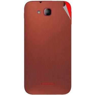 Snooky 43187 Mobile Skin Sticker For Intex Aqua CURVE - Copper