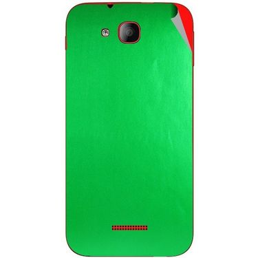 Snooky 43192 Mobile Skin Sticker For Intex Aqua CURVE - Green
