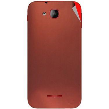 Snooky 43199 Mobile Skin Sticker For Intex Aqua CURVE Mini - Copper