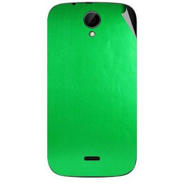 Snooky 43240 Mobile Skin Sticker For Intex Aqua i3 - Green