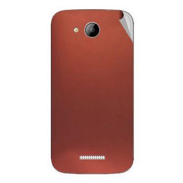 Snooky 43259 Mobile Skin Sticker For Intex Aqua i5 - Copper