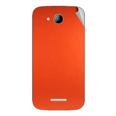 Snooky 43262 Mobile Skin Sticker For Intex Aqua i5 - Orange