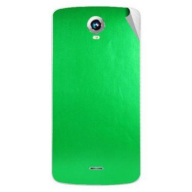 Snooky 43276 Mobile Skin Sticker For Intex Aqua i6 - Green