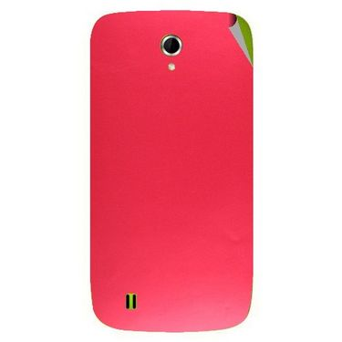 Snooky 43330 Mobile Skin Sticker For Intex Aqua N4 - Red