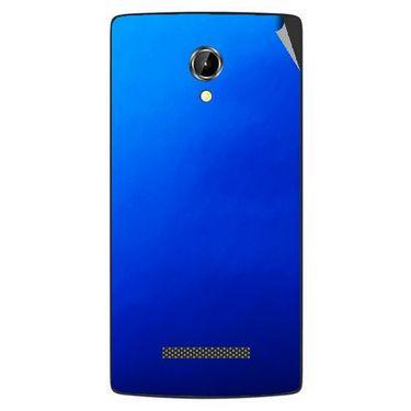 Snooky 43352 Mobile Skin Sticker For Intex Aqua N8 - Blue