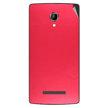 Snooky 43354 Mobile Skin Sticker For Intex Aqua N8 - Red