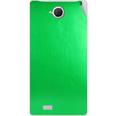 Snooky 43372 Mobile Skin Sticker For Intex Aqua N17 - Green