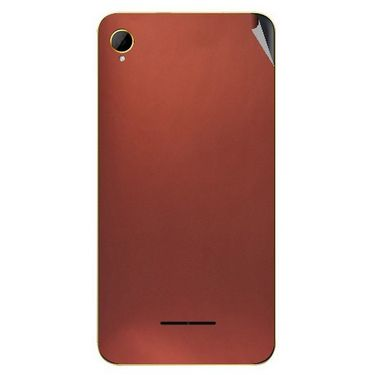 Snooky 43379 Mobile Skin Sticker For Intex Aqua Power HD - Copper