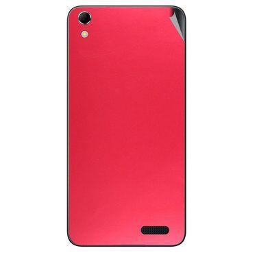 Snooky 43414 Mobile Skin Sticker For Intex Aqua Q3 - Red