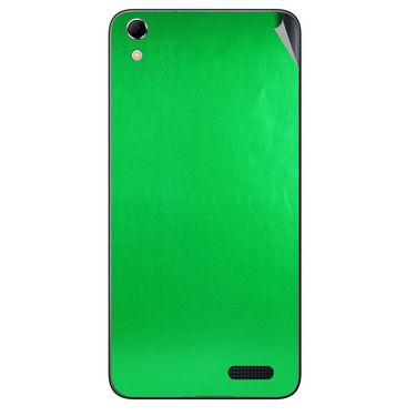 Snooky 43420 Mobile Skin Sticker For Intex Aqua Q3 - Green