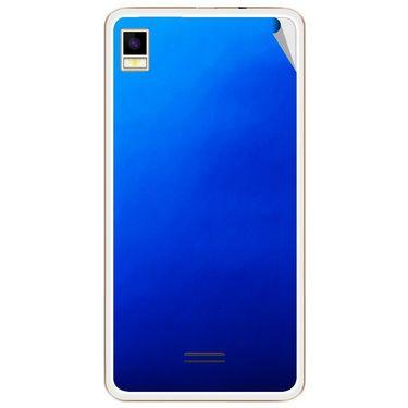 Snooky 43448 Mobile Skin Sticker For Intex Aqua Star 5.0 - Blue