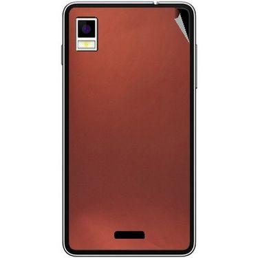 Snooky 43487 Mobile Skin Sticker For Intex Aqua Style - Copper