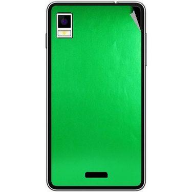 Snooky 43492 Mobile Skin Sticker For Intex Aqua Style - Green