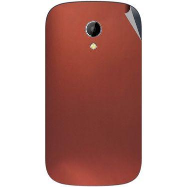 Snooky 43511 Mobile Skin Sticker For Intex Aqua T2 - Copper
