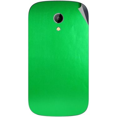 Snooky 43516 Mobile Skin Sticker For Intex Aqua T2 - Green