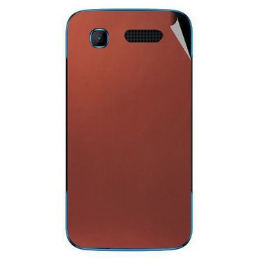 Snooky 43523 Mobile Skin Sticker For Intex Aqua T3 - Copper