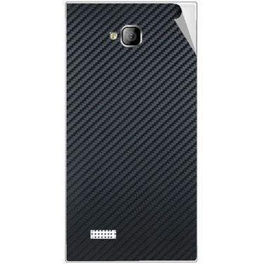 Snooky 43543 Mobile Skin Sticker For Intex Aqua Y2 - Black