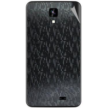 Snooky 43560 Mobile Skin Sticker For Intex Aqua Y2 Ips - Black