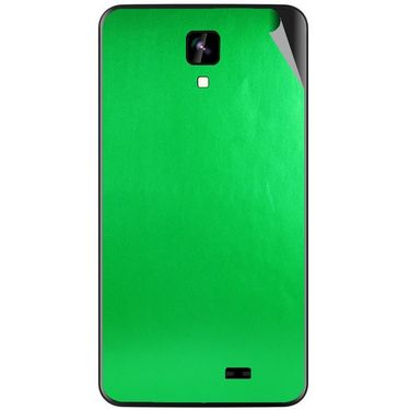 Snooky 43564 Mobile Skin Sticker For Intex Aqua Y2 Ips - Green