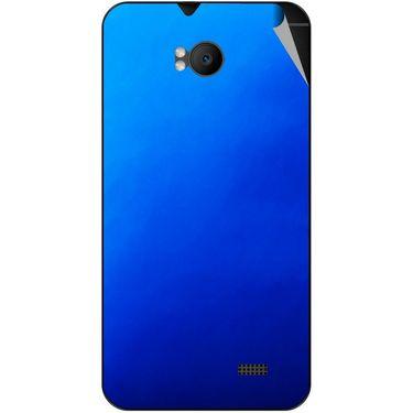 Snooky 43568 Mobile Skin Sticker For Intex Aqua Y2 Remote - Blue
