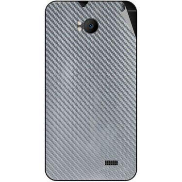Snooky 43578 Mobile Skin Sticker For Intex Aqua Y2 Remote - silver