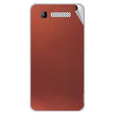 Snooky 43583 Mobile Skin Sticker For Intex Cloud Y11 - Copper