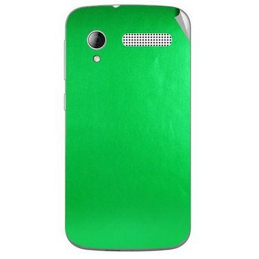 Snooky 43600 Mobile Skin Sticker For Intex Cloud Y12 - Green