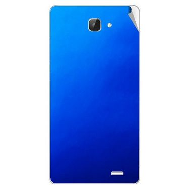 Snooky 43604 Mobile Skin Sticker For Intex Aqua I5 Hd - Blue