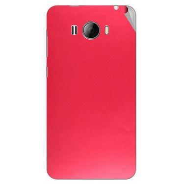 Snooky 43618 Mobile Skin Sticker For Intex Aqua N15 - Red