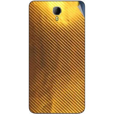 Snooky 43629 Mobile Skin Sticker For Intex Aqua Star 2 - Golden