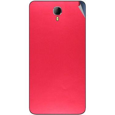 Snooky 43630 Mobile Skin Sticker For Intex Aqua Star 2 - Red