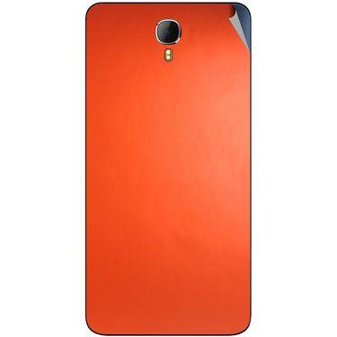 Snooky 43634 Mobile Skin Sticker For Intex Aqua Star 2 - Orange